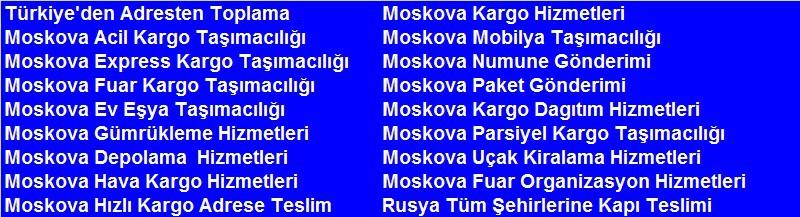 Moskova Taşımacılık